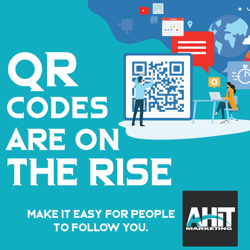 QR codes are on the rise